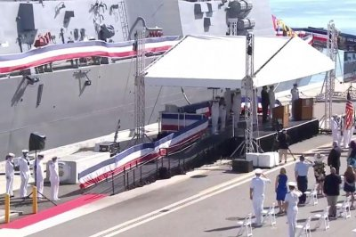 USS Delbert Black commissioned at private ceremony