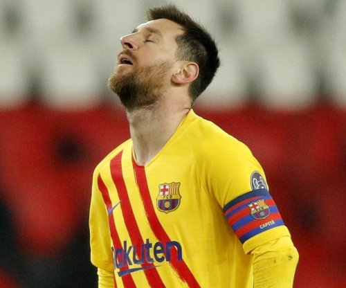 Champions League soccer: PSG knocks out Barcelona, Messi misses penalty