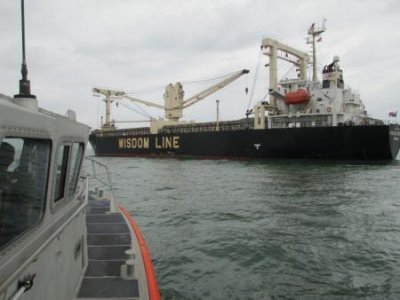 Coast Guard spreads oil spill response in Houston channel