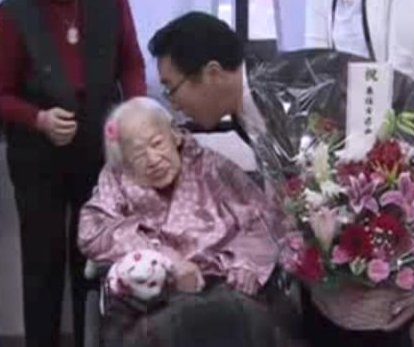 World's oldest living person turns 117 with televised ceremony