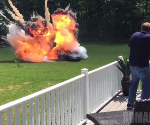 Viral star pranks grandma with 'car bomb' stunt