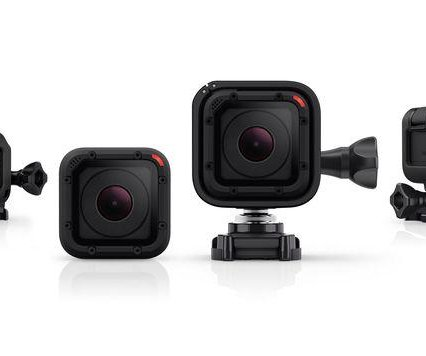 Go Pro's Hero 4 Session is the smallest camera in the company