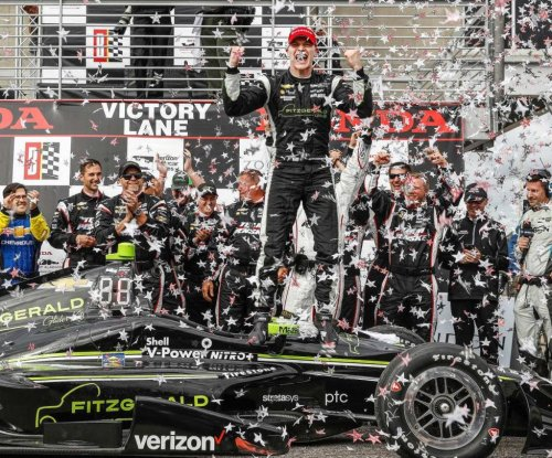 Josef Newgarden claims first win as Team Penske driver in Grand Prix of Alabama