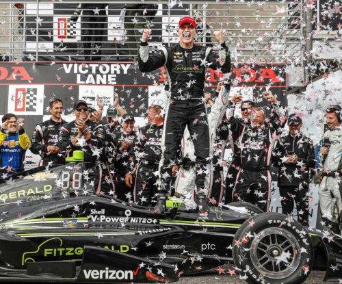 Josef Newgarden claims first win as Team Penske driver in Grand Prix of Alabama