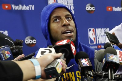 Andre Iguodala: Warriors forward out for Game 1 vs. Cavs