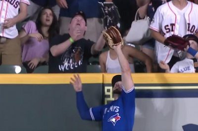 Randal Grichuk: Blue Jays star hits 471-foot blast, robs homer