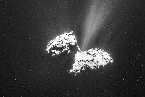 Stress explains the unique shape of Rosetta's Comet 67P