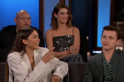 'Spider-Man: Far From Home' cast takes over 'Kimmel,' talk redacted scripts