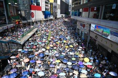 中国誓言特朗普迹象支持香港法案后的对策