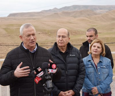 Benny Gantz vows to annex Jordan Valley if elected Israeli PM