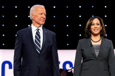 Biden, Harris accuse GOP of rushing Barrett confirmation to dismantle Obamacare
