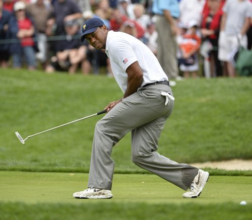 Tiger Woods solidly No. 1 on world golf rankings