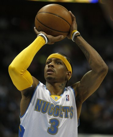 New Piston Iverson to start at point guard
