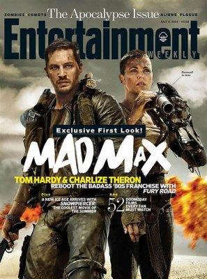 EW cover offers first look at Tom Hardy, Charlize Theron in 'Mad Max' reboot