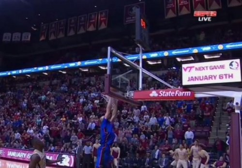 Florida State wins 65-63 after Gators tip ball into wrong basket