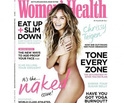Chrissy Teigen goes nude for Women's Health magazine