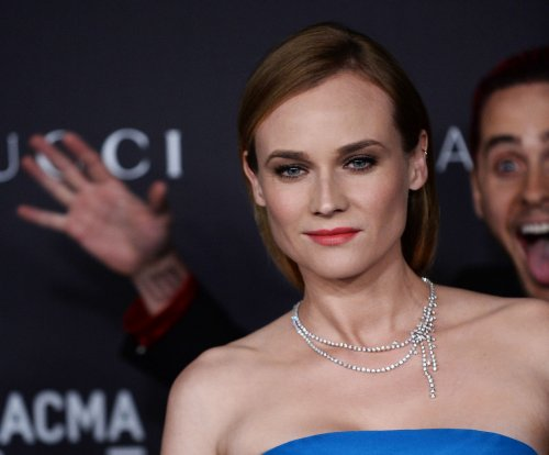 Jared Leto photobombs Diane Kruger on LACMA Art + Film gala red carpet
