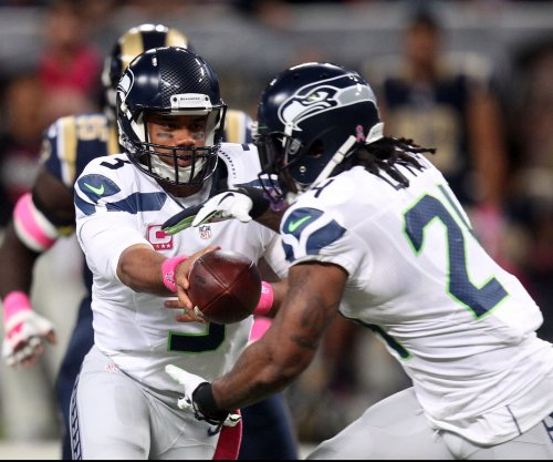 Seattle Seahawks' Russell Wilson: 'collective' leadership needed to replace Marshawn Lynch