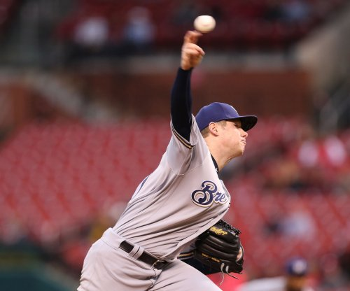 Milwaukee Brewers' Chase Anderson shuts down Arizona Diamondbacks