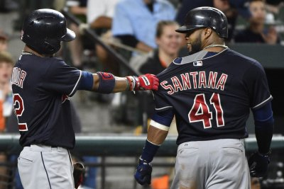 Cleveland Indians rally for wild win over Texas Rangers
