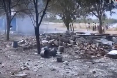 Explosion at India fireworks factory kills more than a dozen workers