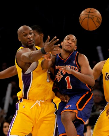 NBA: LA Lakers 116, New York 114