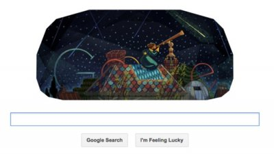 Google doodle honors U.S.'s first professional female astronomer