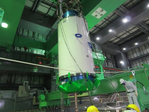 TEPCO completes day 1 of removing fuel rods from Fukushima