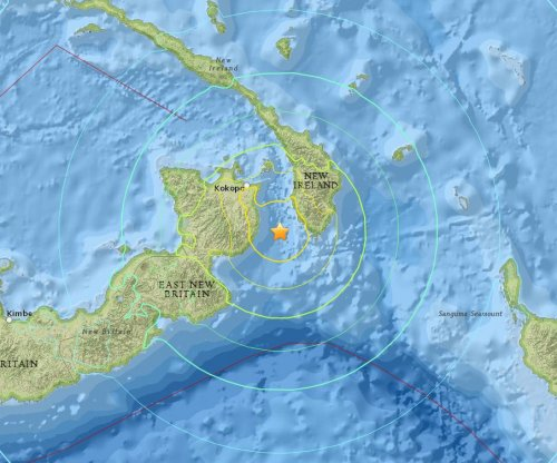 7.5 earthquake off Papua New Guinea followed by 6.8 near Samoa