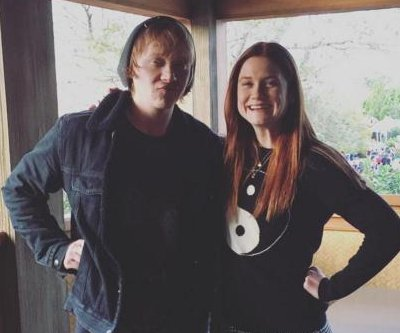 'Harry Potter' siblings Rupert Grint, Bonnie Wright reunite