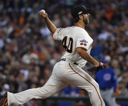 San Francisco Giants' Madison Bumgarner out three-plus months with Grade 2 shoulder sprain