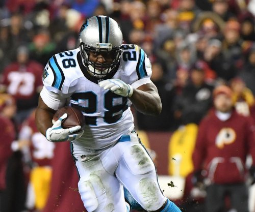 Jonathan Stewart scores three touchdowns as Carolina Panthers beat Minnesota Vikings