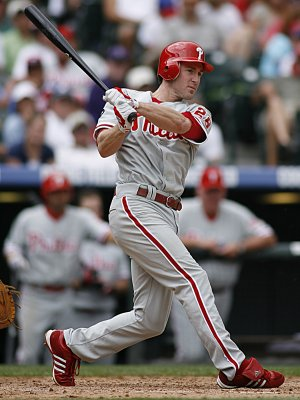 Phillies' Utley leads NL All-Star voting
