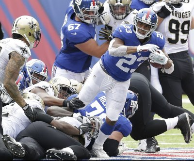 Fantasy Football: New York Giants' Rashad Jennings unlikely to play Monday Night Football