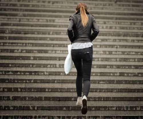 Taking the stairs a comparable pick-me-up to coffee, study says