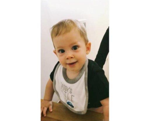 Maksim Chmerkovskiy posts video of son climbing steps at 8 months old