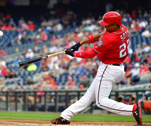 Nats rookie Juan Soto smashes homer 'before' MLB debut