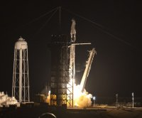 Watch live: NASA launches third SpaceX astronaut mission