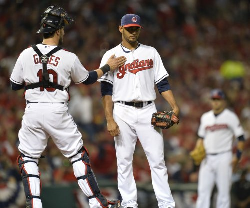 Danny Salazar pitches Cleveland Indians to win over Kansas City Royals