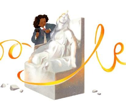 Google honors sculptor Edmonia Lewis with new Doodle