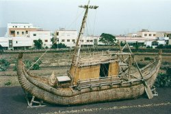 On This Day: Explorer begins journey to sail papyrus boat across Atlantic