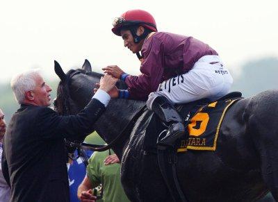 Long shot Da'Tara wins Belmont Stakes