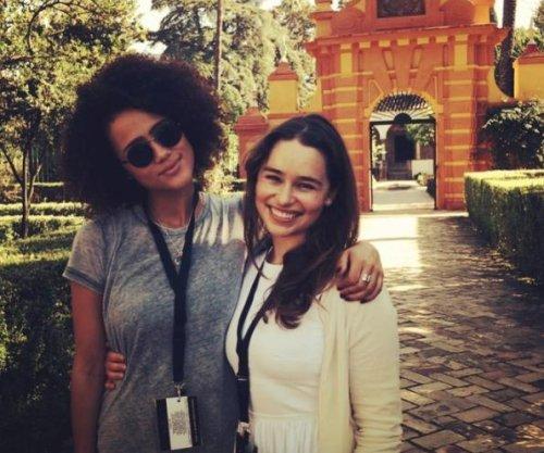 'Game of Thrones': Nathalie Emmanuel celebrates Emilia Clarke's birthday