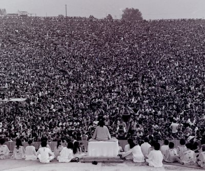 On This Day: Woodstock opens at New York farm