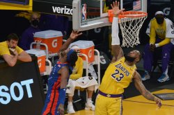 LeBron James records triple-double, Lakers beat Thunder in OT