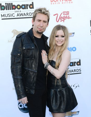 Avril Lavigne wore black gown for wedding