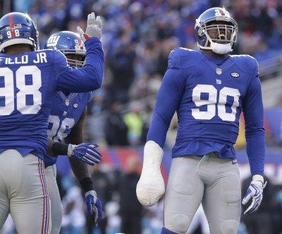 New York Giants DE Jason Pierre-Paul out rest of regular season