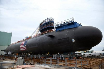 Navy takes delivery of new attack submarine