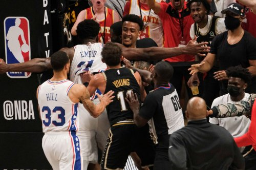 76ers' Joel Embiid fined $35K for scrum in Game 6 vs. Hawks