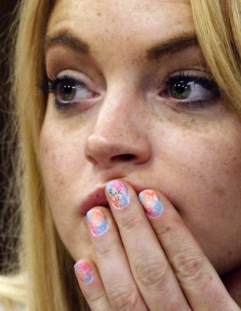 Lohan says she's focusing on work, health
